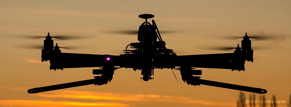 Cinestar 6 – drona profesionala pentru fotografie si filmari aeriene