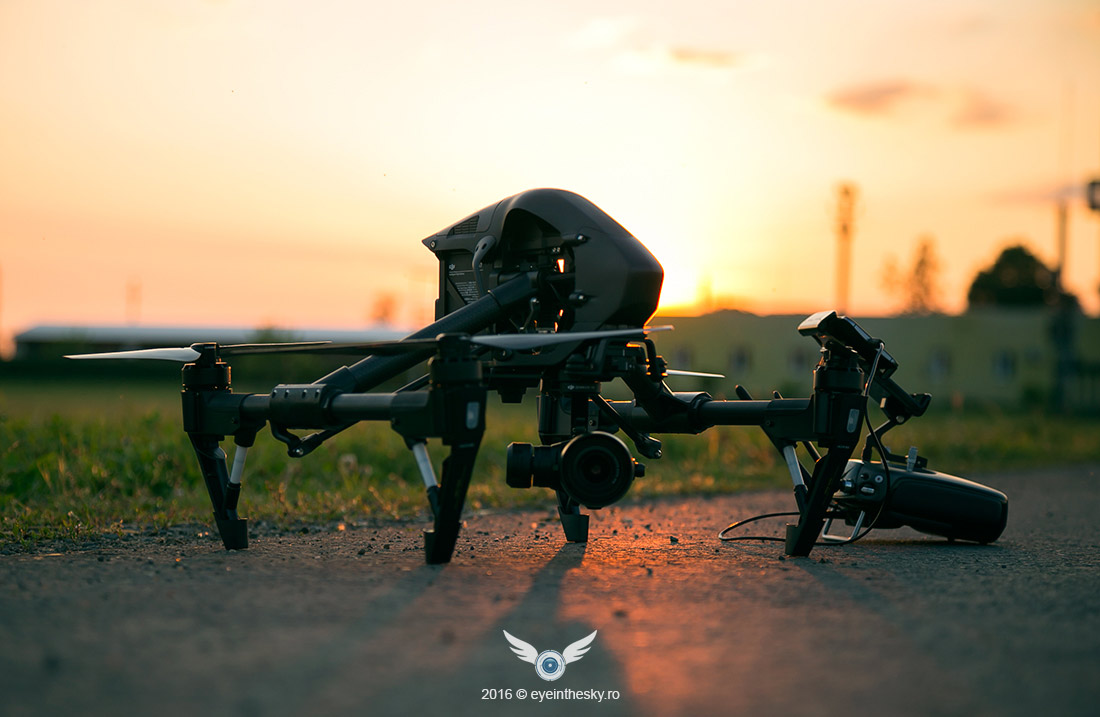 DJI Inspire Pro (Black Edition) dual remote – review