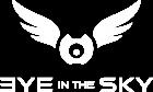 white logo eyeinthesky.ro